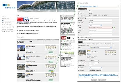 smartfairs - Veranstaltungs-Management